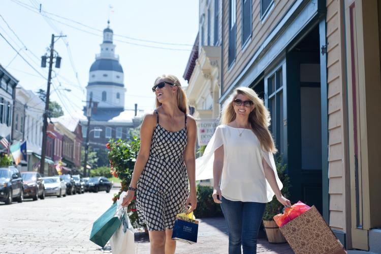 Maryland Avenue Shopping