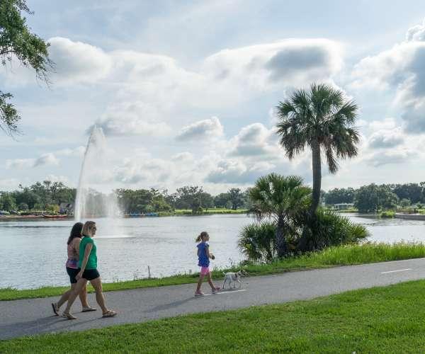 Big Lake at City Park