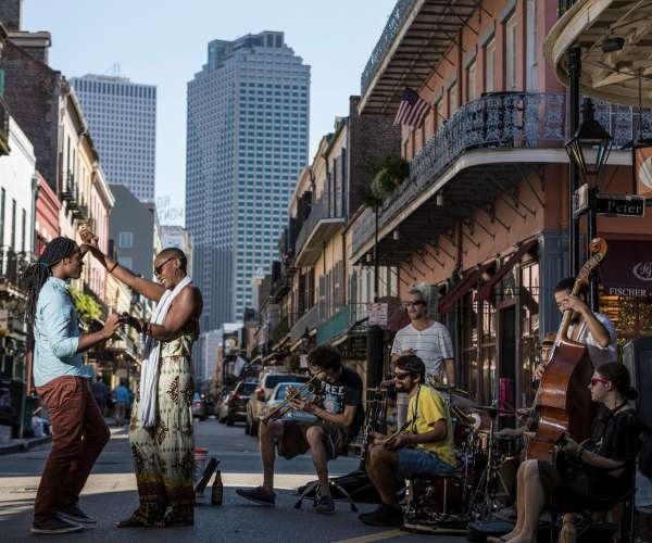 Music & Dancing on French Quarter Streets