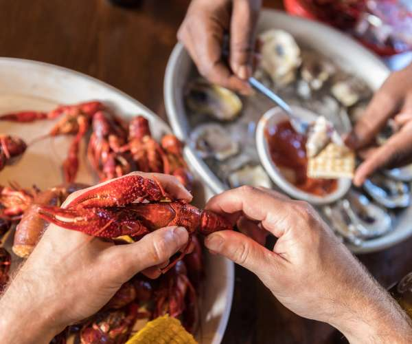 Seafood Seasons in New Orleans