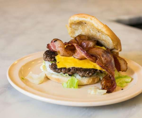 Bacon Cheeseburger - Camellia Grill