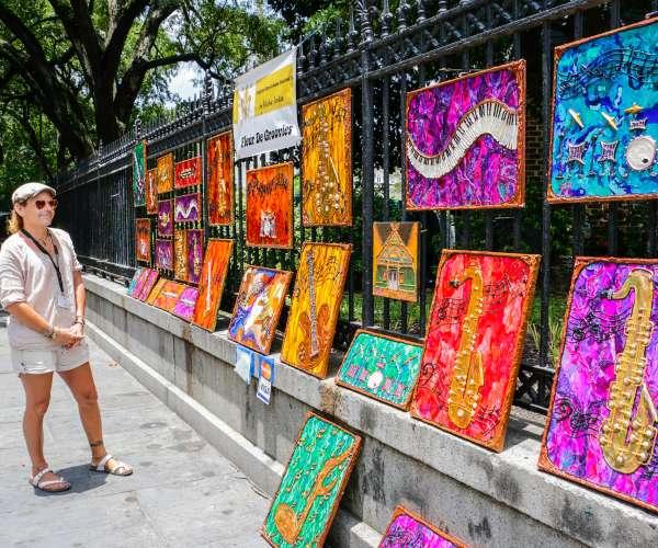 Art in Jackson Square