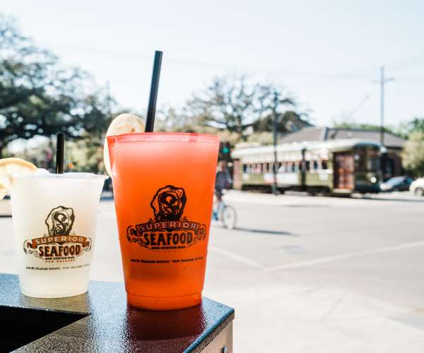 Superior Seafood - To-Go Drinks