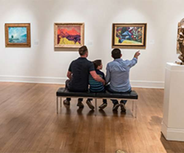 Family Enjoying Gallery