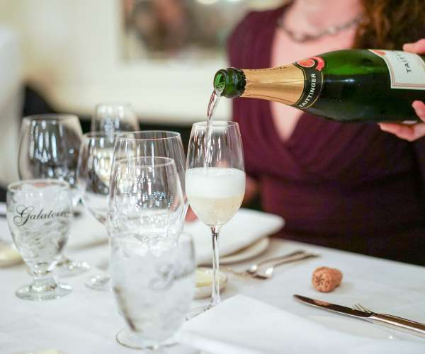 Champagne at Galatoire's