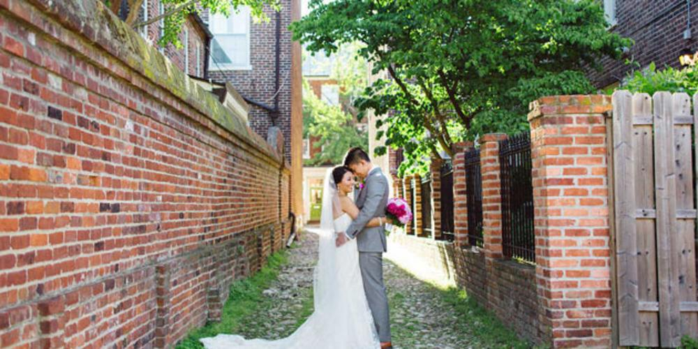 Cobblestone Alley Wedding