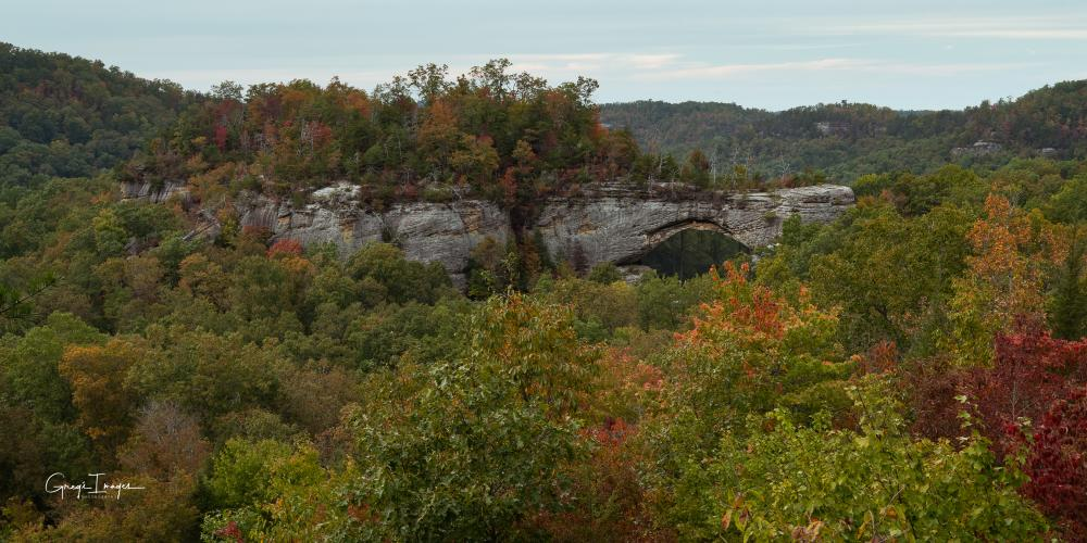 Natural Arch in early October