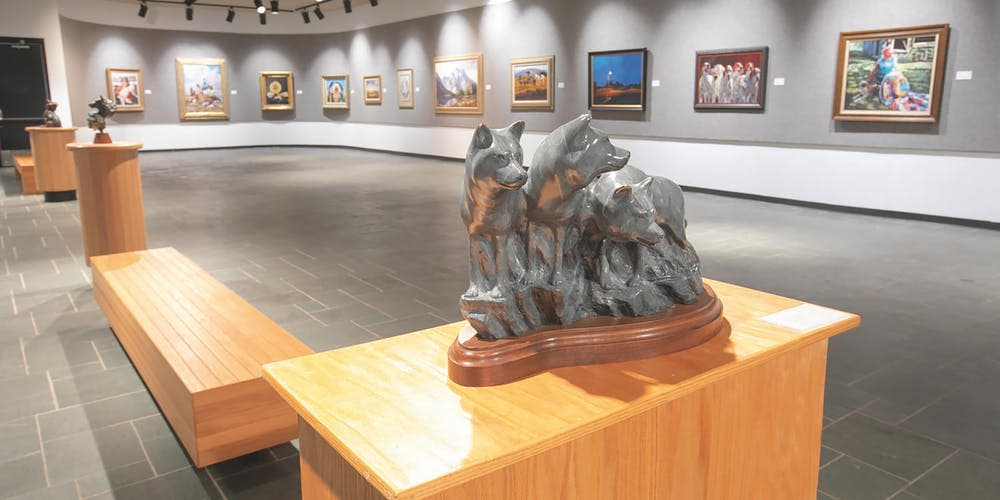 The Dunnegan Gallery or Art is home to a world-class collection.