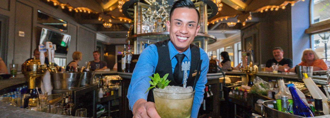 Mint Julep- Hotel Monteleone- Carousel Bar- New Orleans, LA