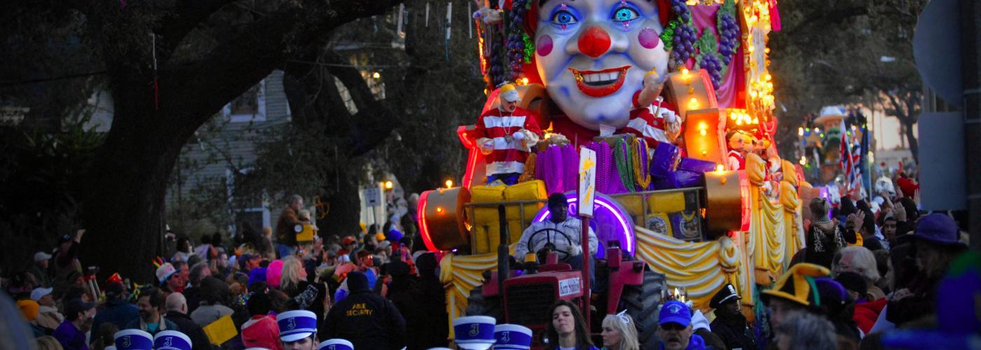 Bacchus Mardi Gras Parade