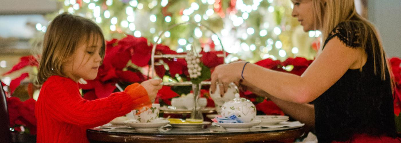 Holiday Tea at the Windsor Court