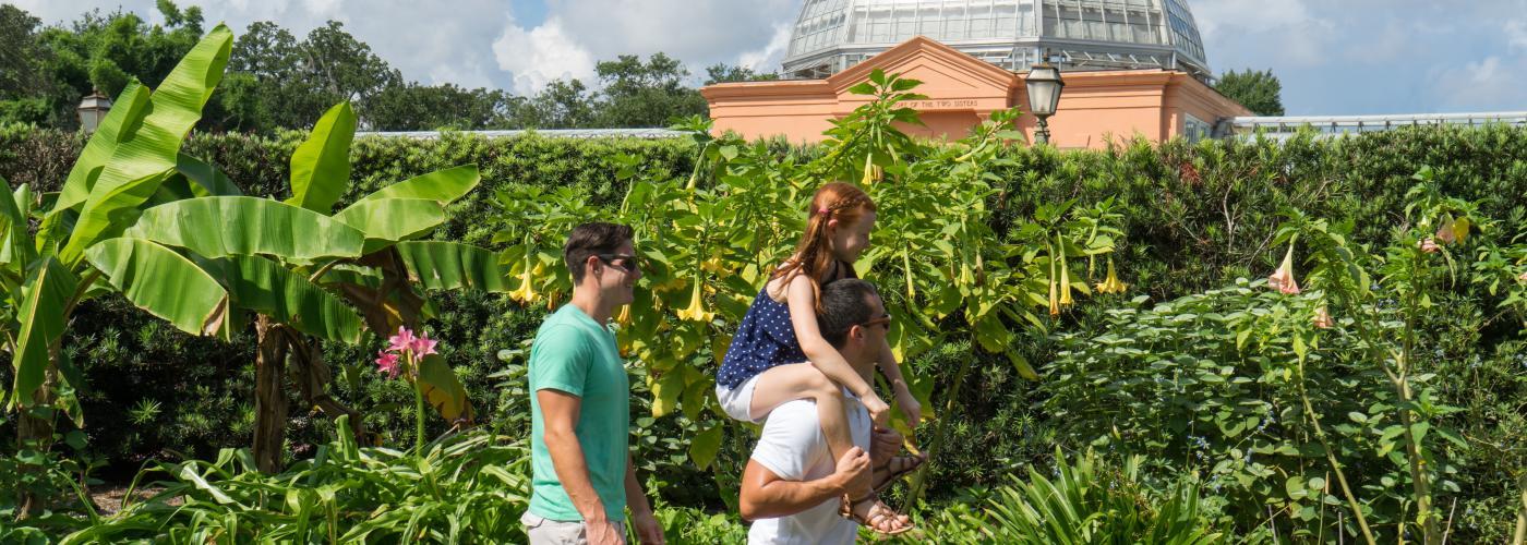 Botanical Gardens in City Park