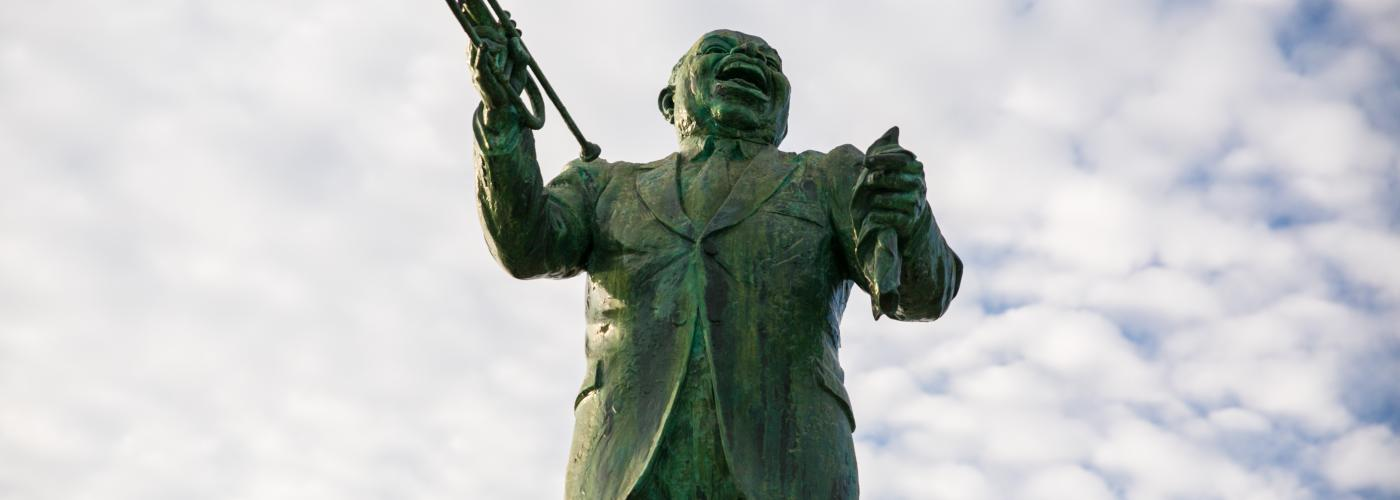 Louis Armstrong Statue - Algiers Point