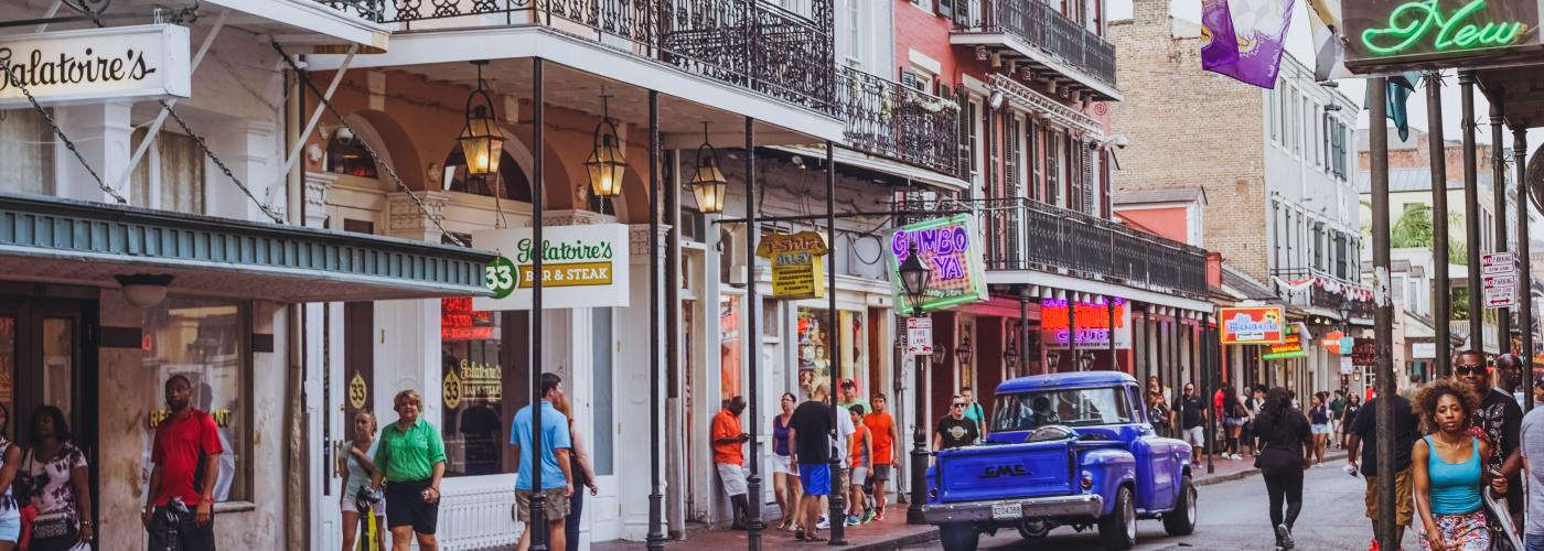 "Confederacy of Dunces Inspired Photos - ""Outside, Bourbon Street was beginning to light up."""