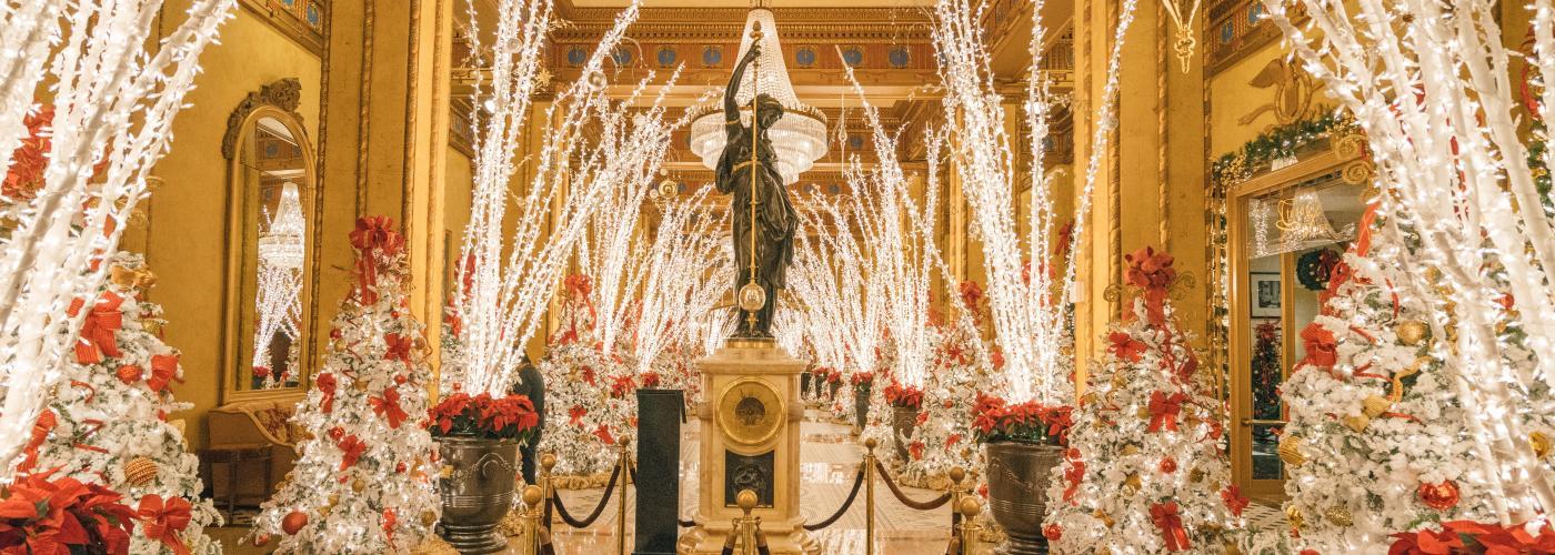 Roosevelt Hotel – Waldorf Wonderland – Christmas 2016