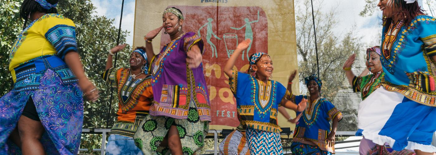 6d4786a95 N'Fungola Sibo Dance Theater - Congo Square New World Rhythms Fest 2017