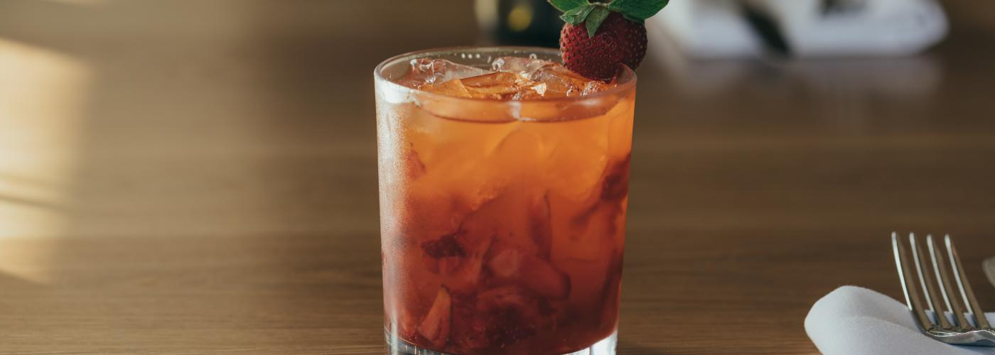 Down the Bayou - bayou rum, strawberries, citrus, ginger - DTB