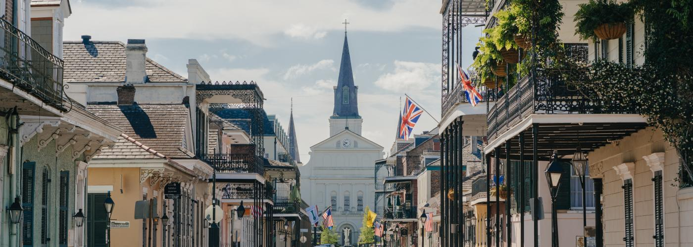 St. Louis Cathedral in the French Quarter