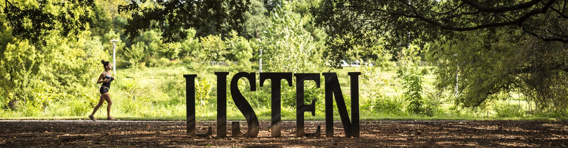 Buffalo Bayou Park - Listen