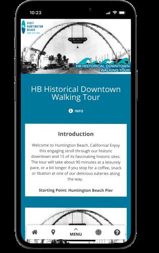 HB Historical Downtown Walking Tour