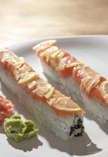 Sushi Roll at Mizu Sushi Laramie