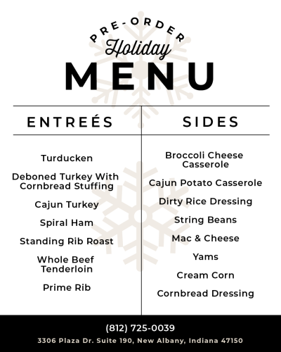 Pre-order Thanksgiving Holiday menu from Taylor Meat Co.