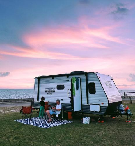 Buccaneer State Park RV Sunset