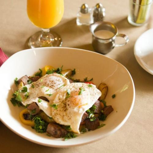 Sanford House Inn and Spa breakfast