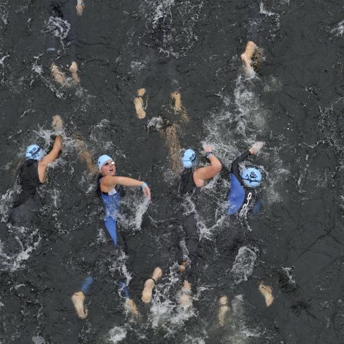 Ironman swim