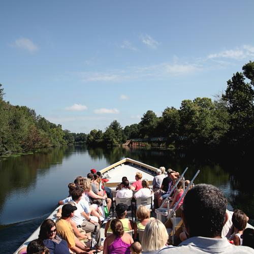 Augusta Canal Petersburg Boat Tour