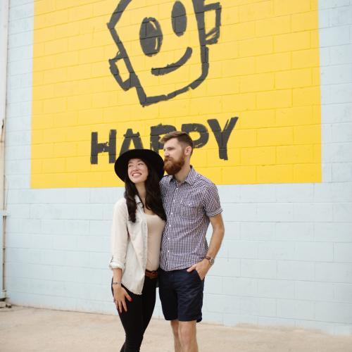Happy Mural