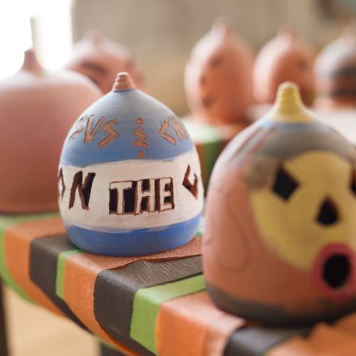 Forever Pumpkins Detail