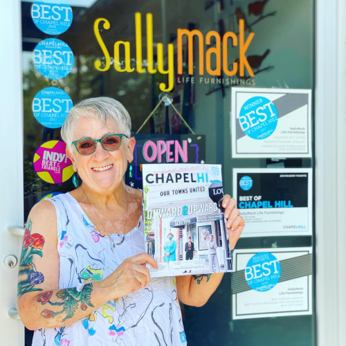 SallyMack Boutique with Chapel Hill Magazine