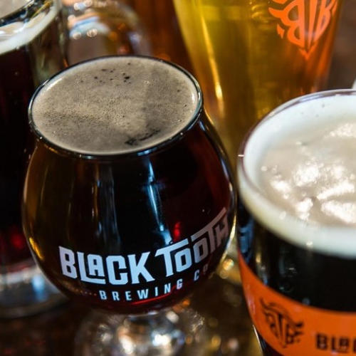 Beers from Black Tooth Brewing Company in Cheyenne, Wyoming