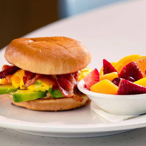 Breakfast sandwich from Wild Eggs