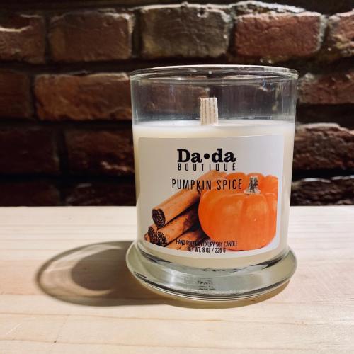 DADA Pumpkin Spice Candle