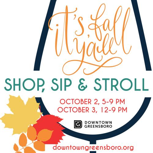 Fall Sip and Shop