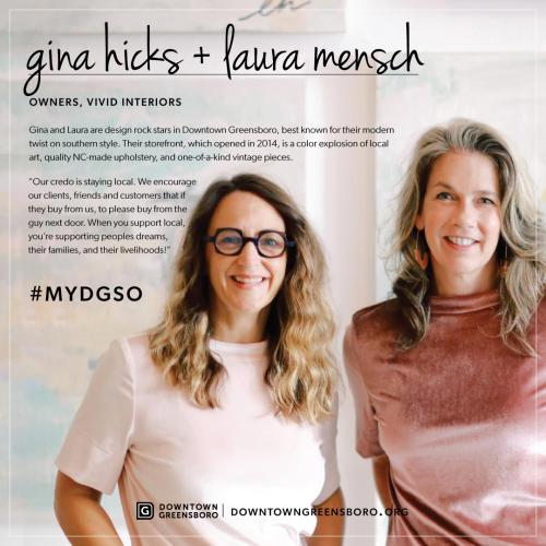 gina hicks, laura mensch