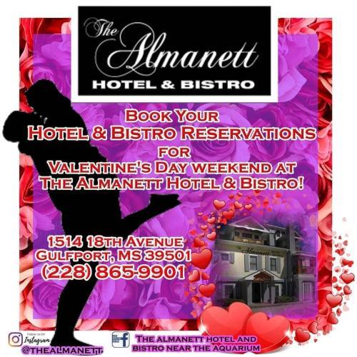 Almanett Hotel Valentine's Day Weekend