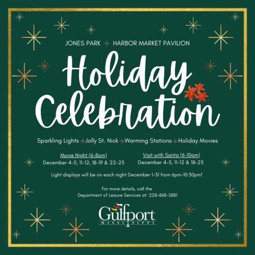 Gulfport 2020 Holiday Celebration