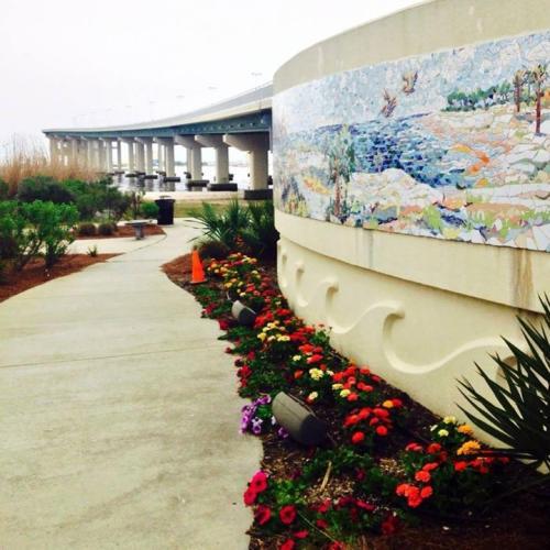 Ocean Springs Public Art: Bridge Mural