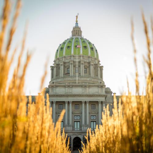PA Capitol Exterior