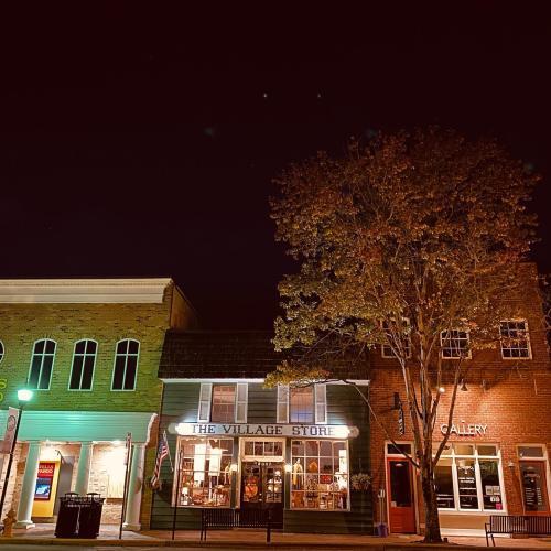 Spooky Davidson Main Street