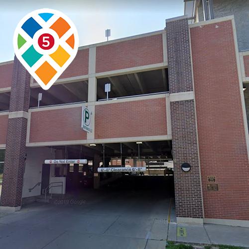 933 New Hampshire Street parking garage