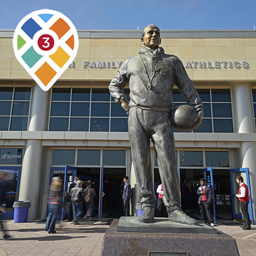Famous Basketball Sites-Stop 3