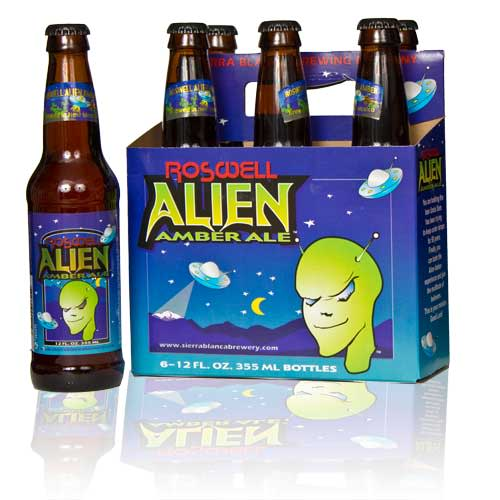 Alien Amber Ale Pecos Wineries
