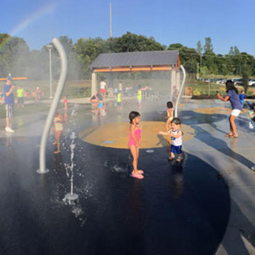 Splash Pad and Other Labor Day Weekend Ideas