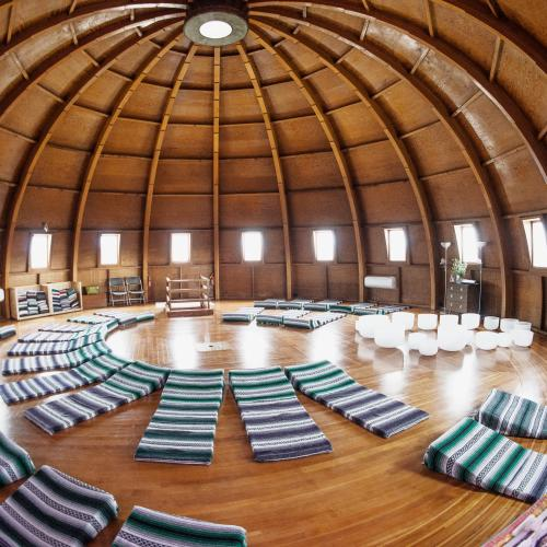 Interior of the Integratron