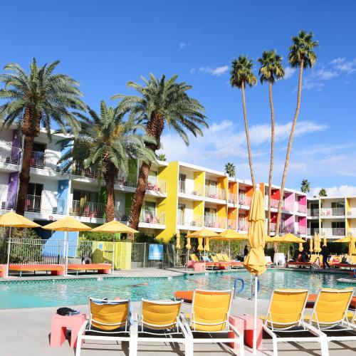 Pool at The Saguaro Palm Springs