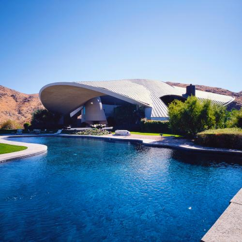 bob hope house palm springs midcentury modern john lautner